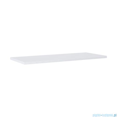 Elita blat MDF 140x46cm biały połysk 167046