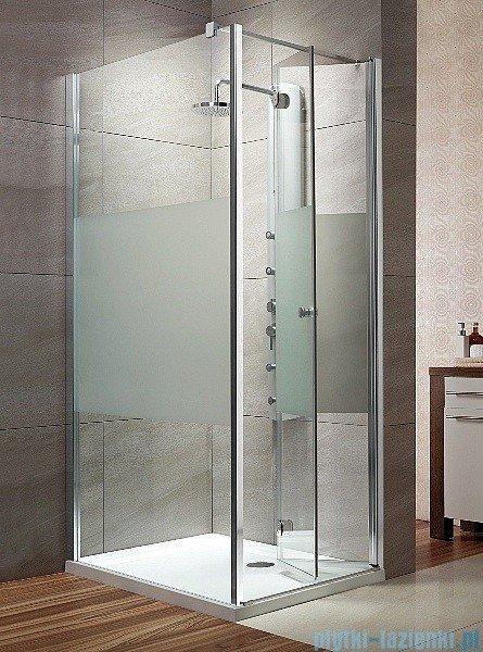 Radaway Eos KDJ-B kabina prysznicowa 90x90 prawa szkło intimato + brodzik delos C + syfon