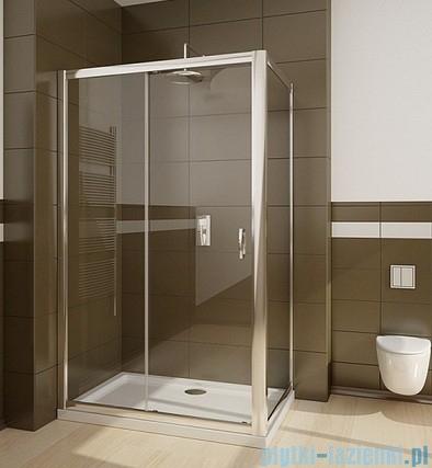 Radaway Premium Plus S Ścianka boczna 80 szkło brązowe
