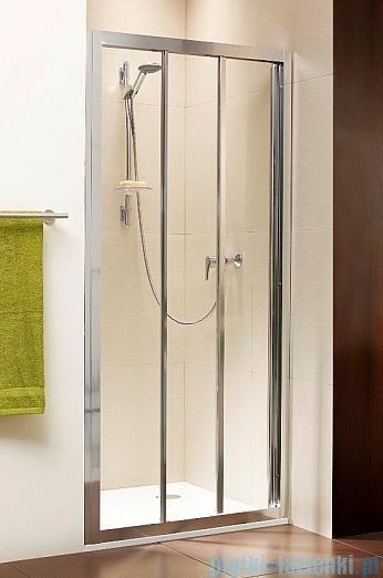 Radaway Treviso DW Drzwi wnękowe 120 szkło brązowe