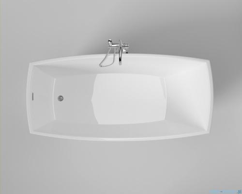 ScandiBath Molde wanna wolnostojąca 170x80cm + syfon klik-klak wizualizacja wanna stojąca