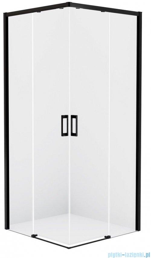 New Trendy Prime Black kabina prostokątna 110x70x200 cm przejrzyste D-0318A/D-0351A