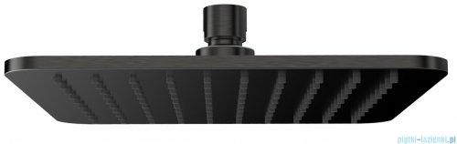 Omnires Slimline deszczownica mosiężna 20x20 cm grafit WG220/OGR