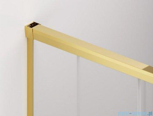 SanSwiss Cadura Gold Line kabina Walk in 120cm prawa ze ścianką przesuwną CAW2D1201207