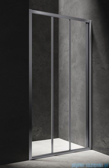 Omnires Bronx drzwi przysznicowe 120x185cm przejrzyste S20A3120CRTR