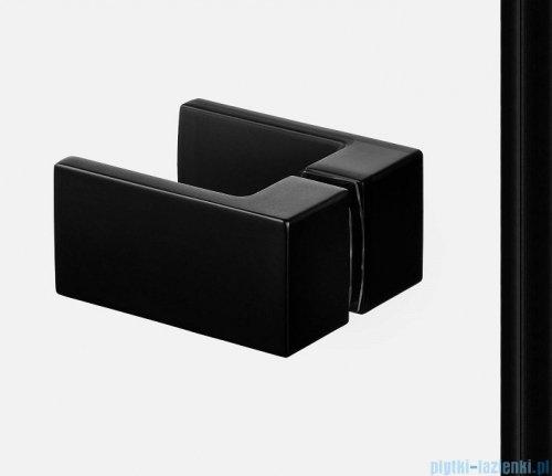 New Trendy Avexa Black kabina prostokątna 80x110x200 cm przejrzyste lewa EXK-1568