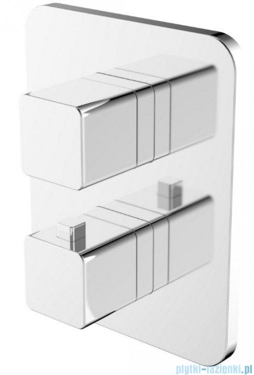 Omnires Parma bateria wannowa podtynkowa termostatyczna chrom PM7436CR