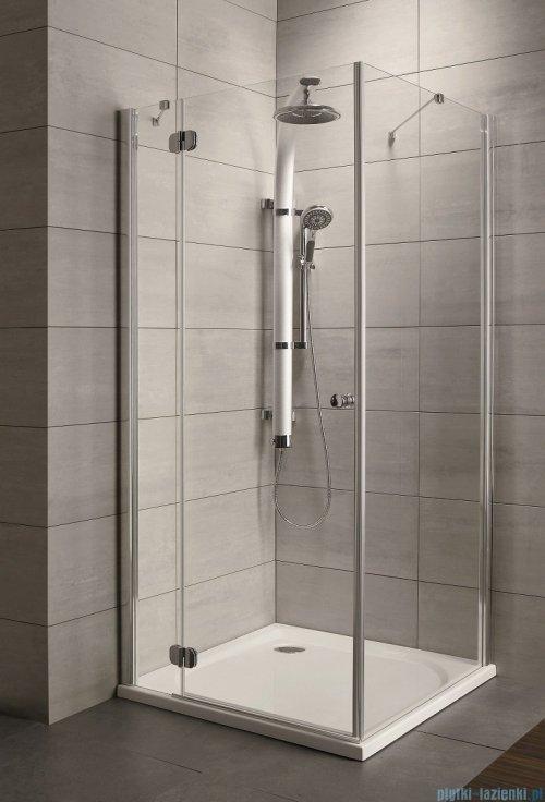 Radaway Torrenta Kdj Kabina prysznicowa 90x80 lewa szkło grafitowe
