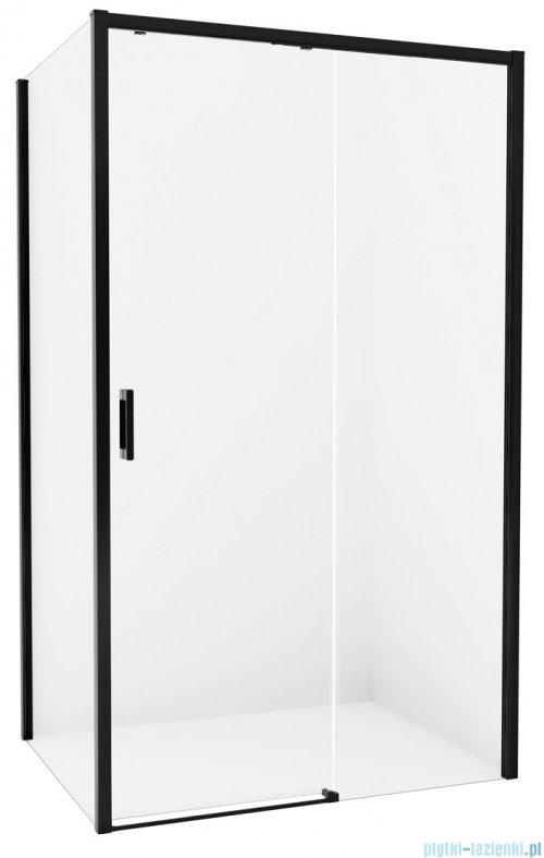 New Trendy Prime Black kabina prostokątna 110x90x200 cm prawa przejrzyste D-0319A/D-0129B