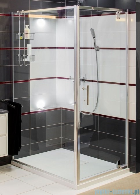 Omnires S kabina prostokątna 80x100x190cm szkło przejrzyste