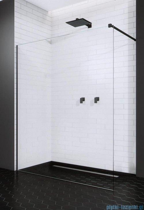 Radaway Modo X Black II kabina Walk-in 110x200 szkło przejrzyste 10mm 389314-54-01