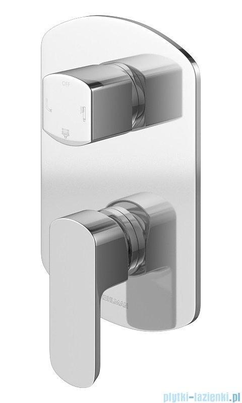 Kohlman Foxal zestaw wannowo-prysznicowy chrom QW211FR40-009