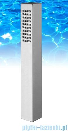 Omnires słuchawka prysznicowa 1-funkcyjna kwadratowa chrom MICRO-R/KCR
