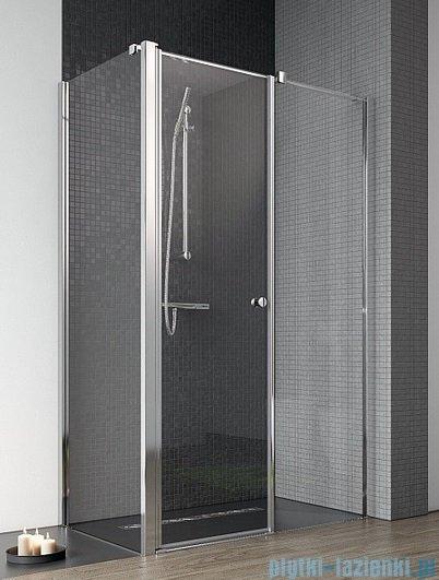Radaway Eos II KDS kabina prysznicowa 100x80 prawa szkło przejrzyste + brodzik Argos D + syfon