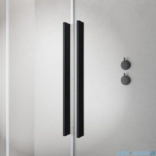 Radaway Furo Black KDD kabina 80x120cm szkło przejrzyste 10105080-54-01L/10105120-54-01R