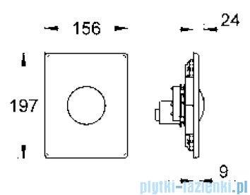 Grohe Skate przycisk uruchamiający biel alpejska 38573SH