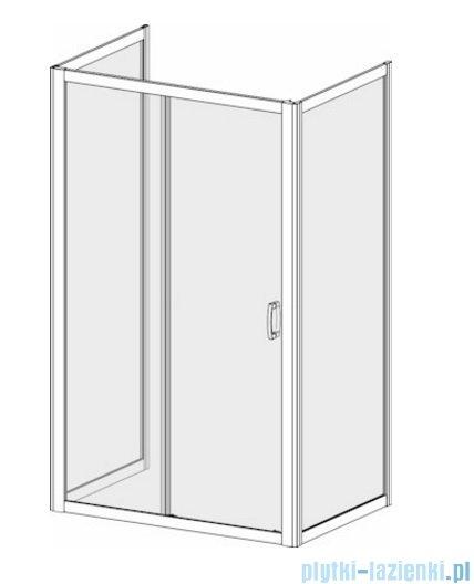 Radaway Premium Plus DWJ+2S kabina przyścienna 100x150x100cm szkło przejrzyste