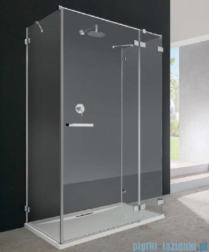 Radaway Euphoria KDJ+S Kabina przyścienna 100x120x100 prawa szkło przejrzyste