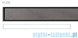 Wiper Premium Slim Pure odpływ liniowy 80 cm z kołnierzem WPS800PU