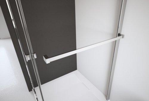 Radaway Nes Kdj I ścianka boczna 75cm szkło przejrzyste 10039075-01-01