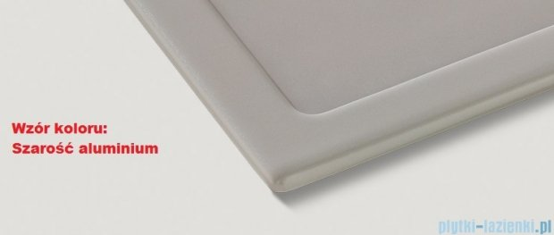 Blanco Axon II 6 S  Zlewozmywak ceramiczny komora lewa kolor: szarość aluminium z kor. aut. i akcesoriami  516551