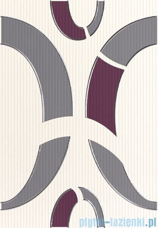 Domino Indigo 3 dekor ścienny 25x36