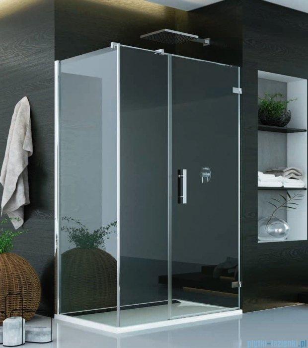 SanSwiss Pur PU31 Kabina prysznicowa 90x100cm prawa szkło przejrzyste PU31PD0901007/PUDT3P1001007