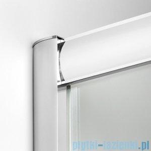 New Trendy Varia kabina asymetryczna 120x85x165cm szkło grafit K-0192