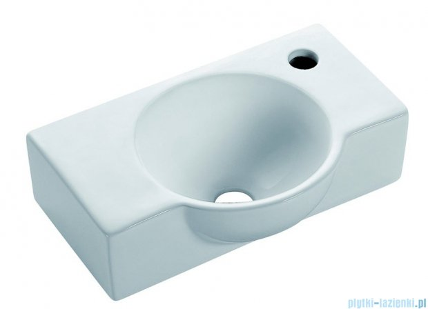 Bathco Venecia umywalka ścienna 40x26cm 4052