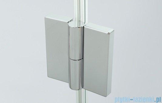 Sanplast kabina narożna prostokątna lewa przejrzyste KNDJ2L/AVIV-90x80 90x80x203 cm  600-084-0190-42-401