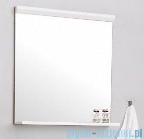 Antado Gabi lustro z półką 56x16cm dąb tabak+biały GBY-L60-3216/WS