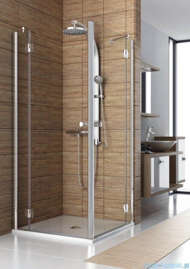 Aquaform Sol kabina prysznicowa kwadratowa De Luxe 90cm szkło przejrzyste 06082