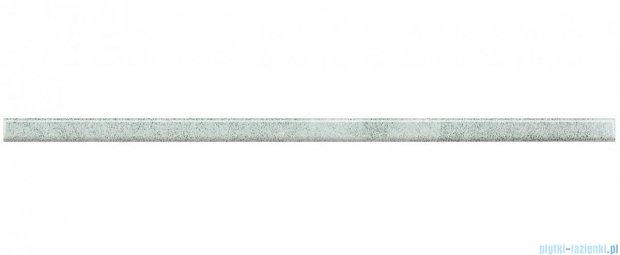 Paradyż silver listwa szklana 2,3x59,5