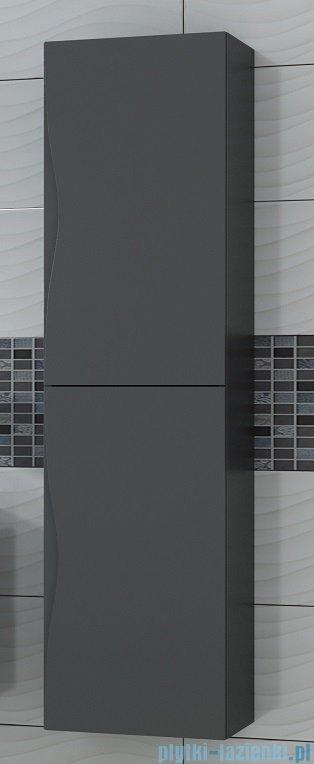Antado Wave słupek z drzwiczkami 40x31,5x150cm szary mat VA-160-U112