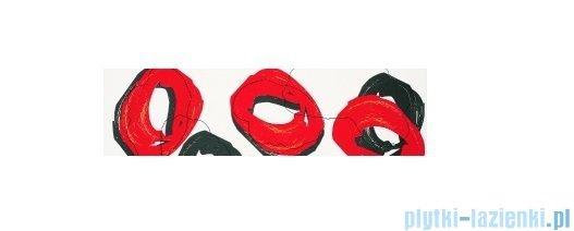Listwa ścienna Tubądzin Colour Pop Red 59,3x16,25