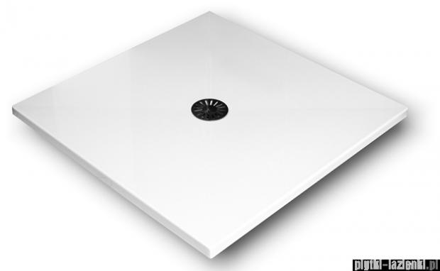 Schedpol De Luxe brodzik kwadratowy z syfonem 100x100x4cm 3.042