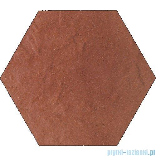 Paradyż Taurus rosa klinkier heksagon 26x26
