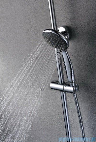 Blue Water Rogo zestaw wannowo-prysznicowy chrom ROG-ZWPN.500C