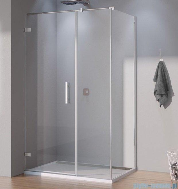 SanSwiss Pur PU31 Kabina prysznicowa 140x80cm prawa szkło przejrzyste PU31PD1401007/PUDT3P0801007