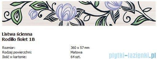 Domino L-Rodillo fiolet 1B 5,7x36