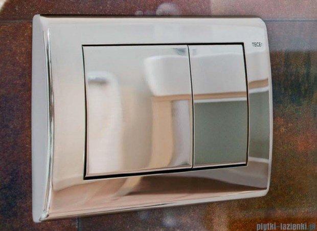 Tece Przycisk spłukujący do WC Teceplanus stal chromowa połysk 9.240.321