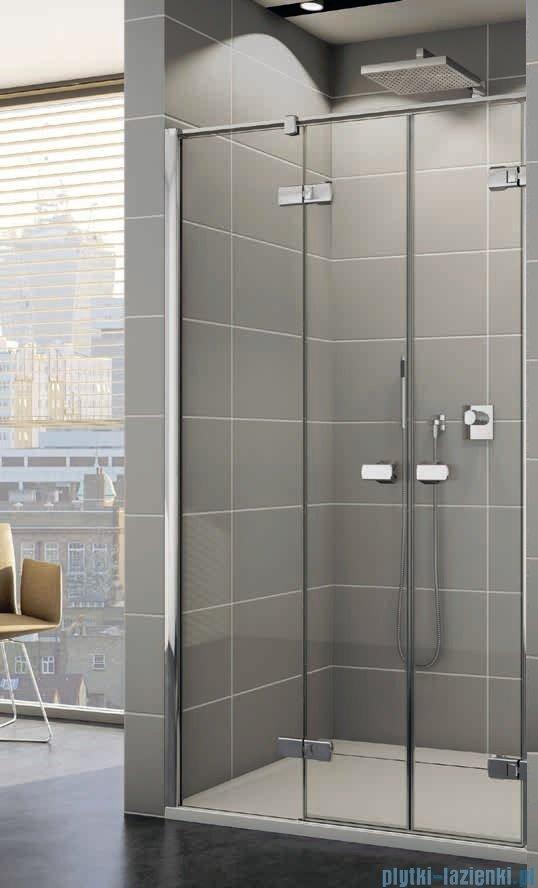 Sanswiss Melia ME32 Drzwi prysznicowe lewe 100cm przejrzyste ME32PG1001007