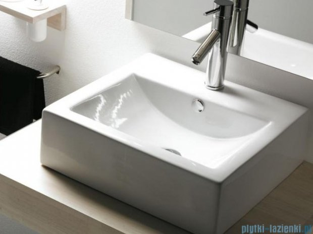Bathco umywalka nablatowa Bolonia 51x45,5 cm 0010