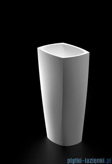 Marmorin Isar umywalka wolnostojąca biała 45,5x32,8x85cm P598040020010