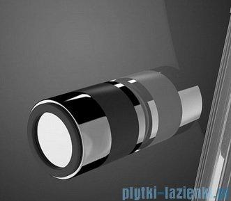 Radaway Eos PDD kabina prysznicowa 100x100 szkło intimato + brodzik Patmos A + syfon 37623-01-12N