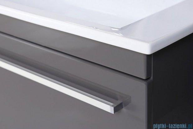 Antado Spektra ceramic szafka z umywalką 82x43x40 szary połysk wolfram grey FDF-AT-442/85GT-56+UCS-AT-85
