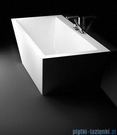 Marmorin Tebe I wanna przyścienna 180x80 cm biała P530180020010