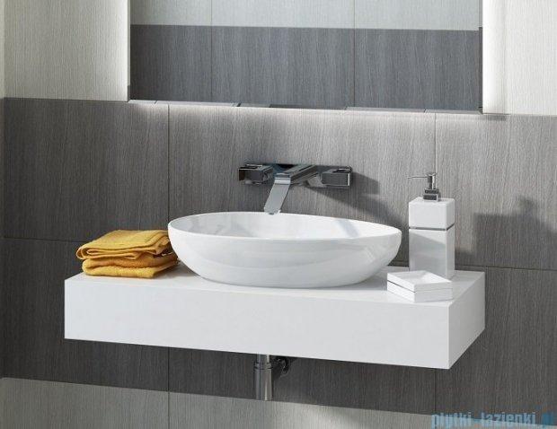 Antado Combi blat wiszący pod umywalkę Libra 100x45cm lewy ALT-B/3-1000x450x150-WS