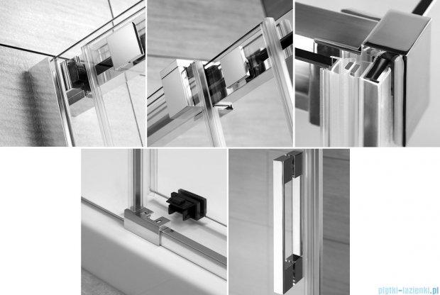 Radaway Espera KDD Kabina prysznicowa 80x100 szkło przejrzyste 380150-01L/380152-01R