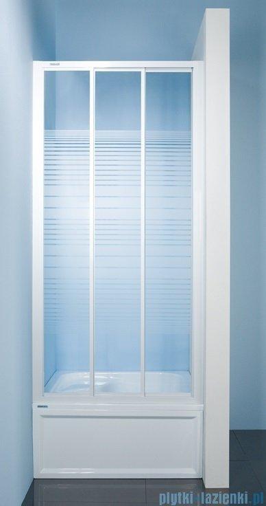 Sanplast drzwi przesuwne  DTr-c-90-100 szkło Sitodruk W4 600-013-1831-01-410